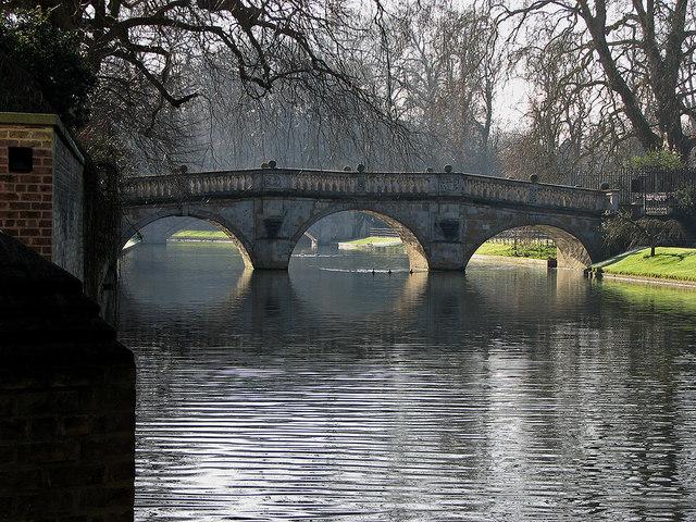 Towards Clare College Bridge