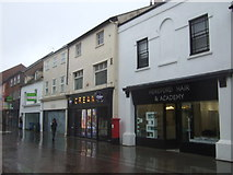 SO5140 : Shops on Commercial Street, Hereford by JThomas