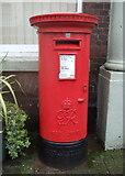 SO5139 : George VI postbox on St Owen Street, Hereford by JThomas