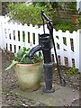 TQ5354 : Hand Water Pump in Sevenoaks by John P Reeves
