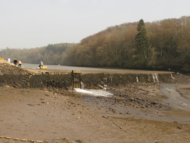 Stoke Gabriel, dam for tidal mill