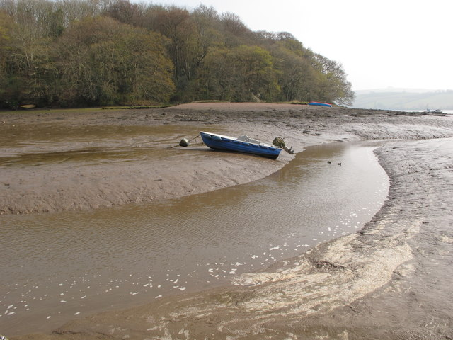 Stream to Stoke Mouth at low tide