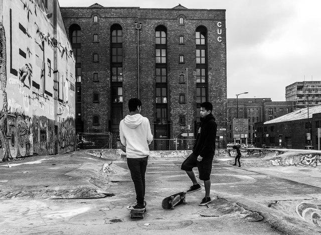 New Bird Street Skate Park, Liverpool