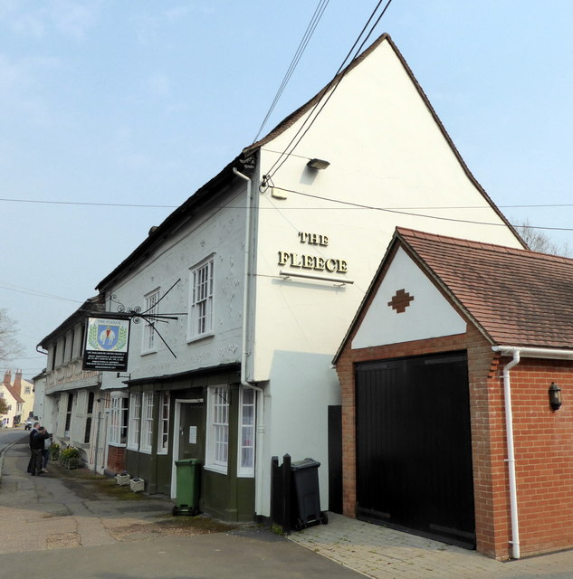 The Fleece, Coggeshall by PAUL FARMER