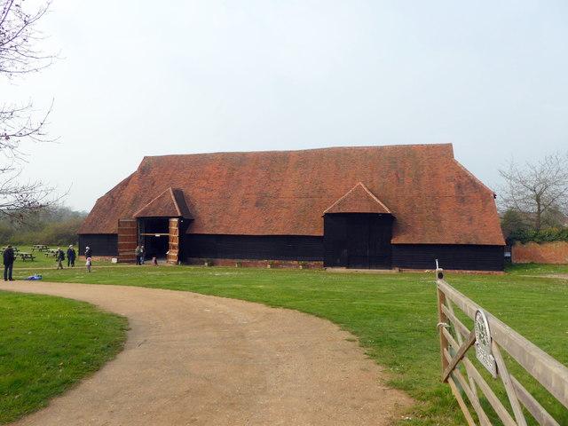 Coggeshall Grange Barn by PAUL FARMER