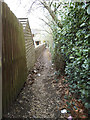 SE0641 : Path from Parkwood Street to Low Mill Lane by Stephen Craven