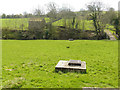 SE0653 : Drainage manholes in a field by Stephen Craven
