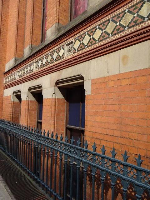 Detail of the Birmingham School of Art