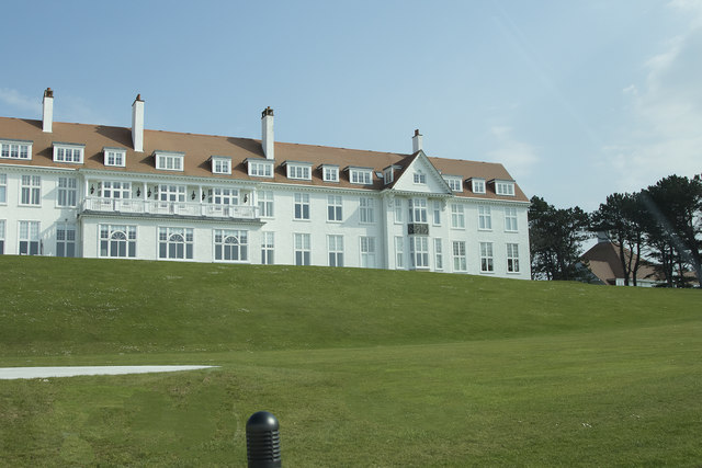 The hotel at Turnberry