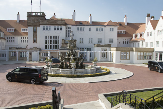 Turnberry Hotel main entrance