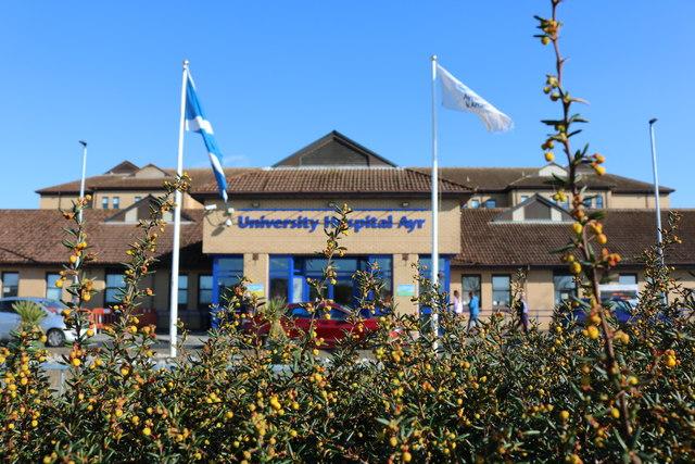 New Growth at Ayr Hospital