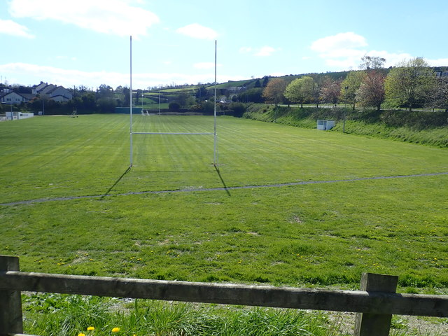 The main pitch at the Redmond O'Hanlon GAC, Poyntzpass