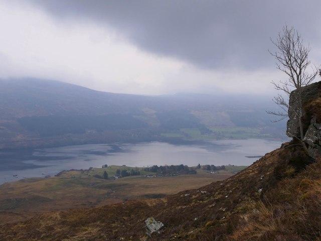 Crag below Càrnan Bàn, Ross and Cromarty