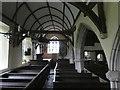 SS8028 : North aisle, St Mary's church, Molland by David Smith