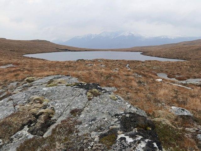 Loch a' Chàrnain Bhàin, Ross and Cromarty