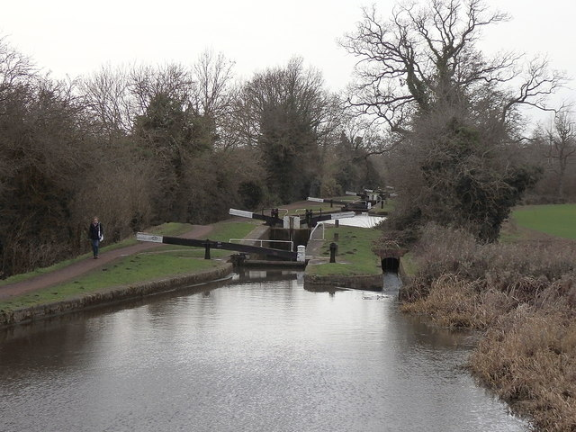 Tardebigge flight of locks, Worcester & Birmingham Canal