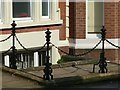 SK5639 : Railings at 28 Regent Street, Nottingham by Alan Murray-Rust