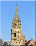 SK5640 : Pugin's spire, Nottingham Cathedral by Alan Murray-Rust