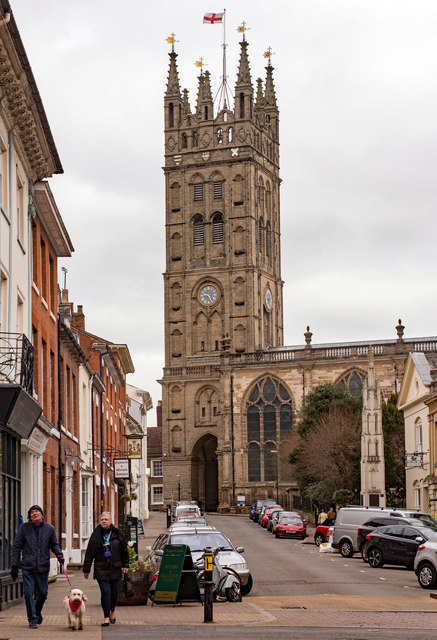 The Collegiate Church of St Mary, Warwick - April 2019 (1)