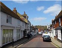 TQ9220 : Landgate, Rye by Simon Carey