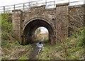NH7046 : Railway bridge at Cairnlaw by valenta