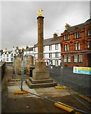 NO5603 : Market Cross, Shore Street, Anstruther Easter by Richard Sutcliffe