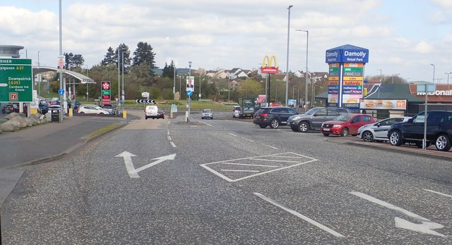 Five Ways Roundabout at Damolly, Newry