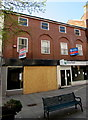 ST3187 : Boarded-up vacant shop, Llanarth Street, Newport by Jaggery