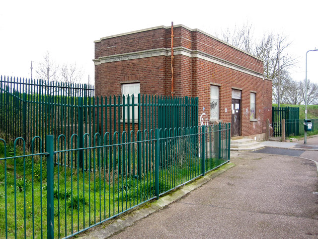Pump House at Halsdon Road Exmouth