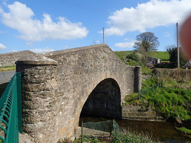The Pointed Canal Bridge over the Newry Canal at Jerrettspass