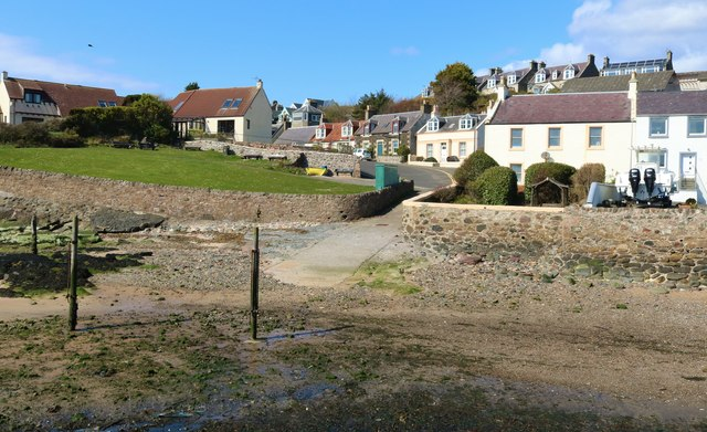 Old river ford, Lower Largo