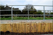 H4473 : Humming rails, riverside walk and cycle path, Omagh by Kenneth  Allen