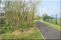 H4473 : Riverside walk and cycle path, Lisanelly by Kenneth  Allen