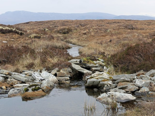Outflow from Loch a' Chàirn Beag, Ross and Cromarty