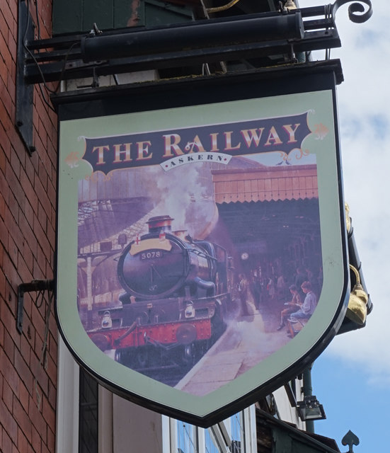 The Railway on Moss Road, Askern
