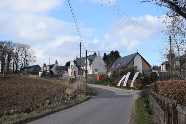 Looking up the hill, Marywell