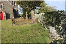 NX6248 : Kirkyard, Borgue by Billy McCrorie