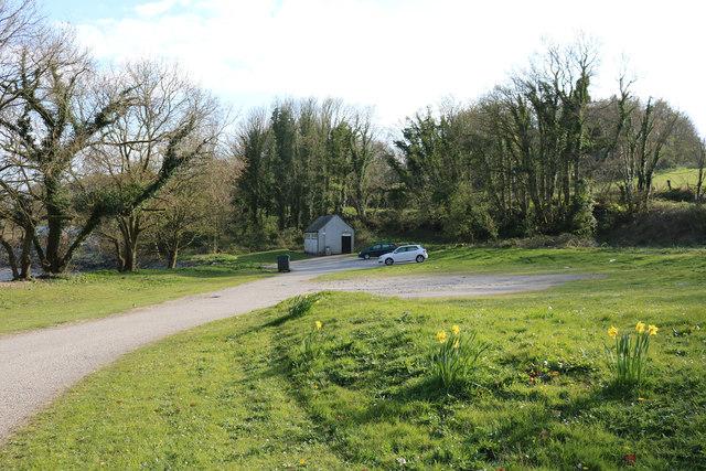 Car Park at Nun Mill Bay