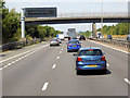 SO8941 : VMS and Bridge, M5 north of Strensham by David Dixon