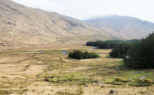 Moorland in Glen Dessarry