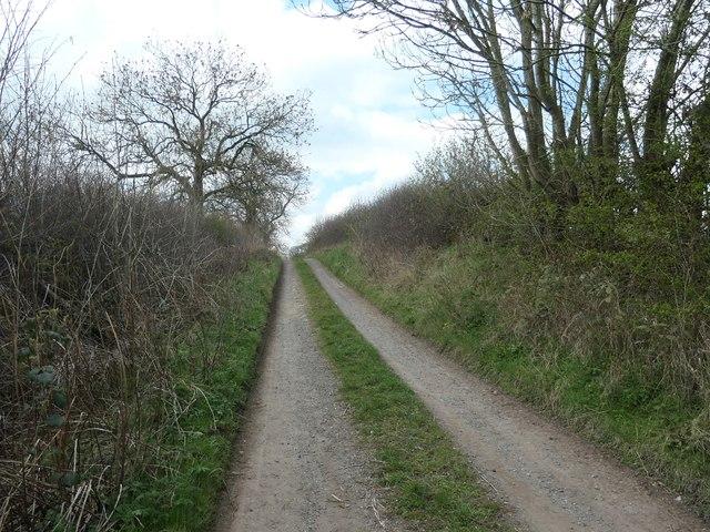 Hummerbeck Lane, climbing up towards Bridge House