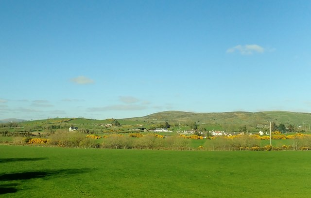 View across the Kilcoo Plain towards Tullynasoo Mountain