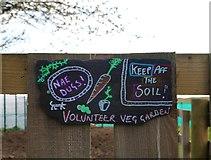 NO3901 : Volunteer Garden, Silverburn Park by Bill Kasman