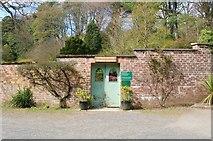 NO3901 : Entrance to the Walled Garden, Silverburn Park by Bill Kasman
