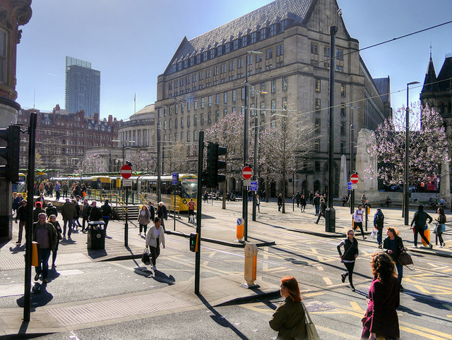 Manchester, St Peter's Square