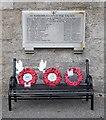 NO5597 : Birse war memorial by Bill Harrison