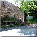 SO5834 : Nash Farm postbox, Fownhope by Jaggery