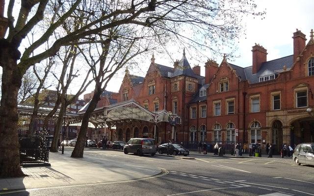 Marylebone Railway Station, London