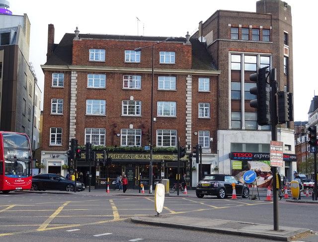 The Greene Man public house, Euston, London NW1