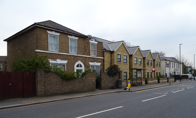 Houses on Gunnersbury Lane, Acton, London W3